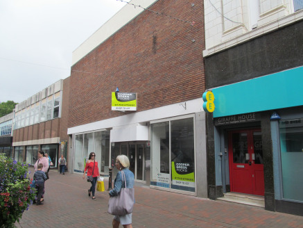 Town centre shop unit\nWide street frontage\nExtensive upper parts (may split)\nSales Area 73.80 sq m (794 sq...
