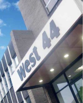 West 44 is a three-storey building providing a range of office accommodation including serviced office pods (suitable for start-up and smaller businesses), larger office suites and full floorplates. The property benefits from immediate access to the...