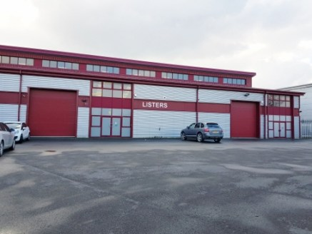 This substantial commercial building of steel portal frame construction with insulated profile metal cladding comprises two adjoining units available either as a whole or on an individual basis.   he accommodation extends in total to approx. 18,861 s...