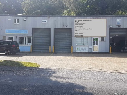 The unit comprises a terraced light industrial / warehouse unit with a full mezzanine floor. The unit has been used as a showroom predominately and is in good presentable order.\n\nThe property is of steel portal frame construction with profiled stee...