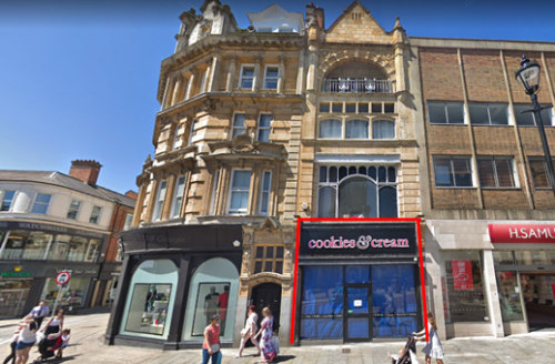 The property comprises a ground floor and basement retail premises located in a central position in Northampton Town...