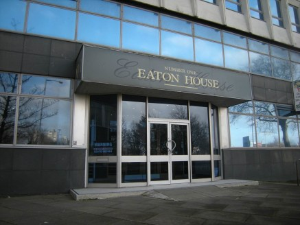 Eaton House is a 12 storey office building at the junction of Warwick Road and the ring road (Junction 6). A car park for the specific use of the building is directly opposite on Warwick Road.