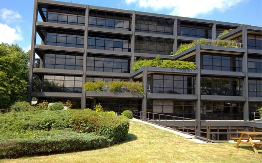 Impressive, modern corporate office building with suites from 1,250 - 10,900 sq ft available