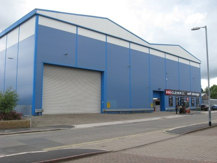 High bay warehouse. Clear eaves height 11.25m Floor loading 50 kn per sq m. High bay Dexion racking. Wire guided Atlet Omni forklift. Adjacent to the successful Box Clever Self Storage facility. Flexible arrangements can be accommodated....
