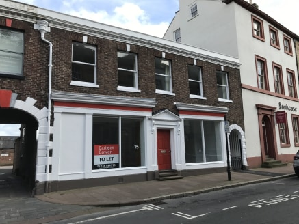 CITY CENTRE UNIT**<br><br>**SUITABLE FOR VARIOUS USES**<br><br>A ground floor, double window display unit set within the Historic Quarter of Carlisle city centre. The accommodation has recently been refurbished.<br><br>Car parking is available to the...