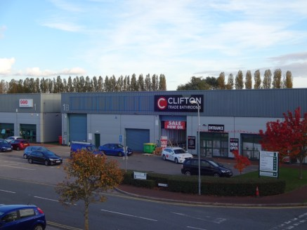 An industrial/trade counter unit in a high profile trade / retail location.  3,979 sq ft  £25,000 per annum