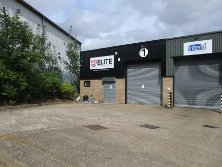 Modern industrial unit situated on a small estate of 6 units.\n\n* Large shared concrete service yard\n\n* Prominent main road location\n\n* Good access to the M1 motorway\n\n* Established commercial...