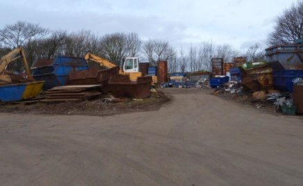 The site is rectangular in shape, being set back from Clough Street and accessed via a secure gated entrance. A road which widens to incorporate car parking and a weighbridge leads to the main site, which is currently operated as a scrap metal recycl...