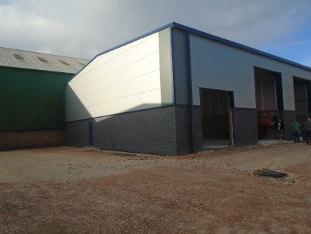 The property comprises a semi-detached light industrial unit currently undergoing construction in anticipation for completion by October 2018.   In keeping with the developments standard design the unit will be of steel portal frame construction with...