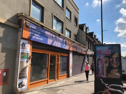 A well proportioned lock up shop of approximately 1849 sq ft. The shop has a large frontage and benefits from heavy footfall due to the close proximity to Kenton Station.