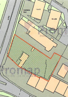 The land is available as a whole or in 2 parts  The site occupies a prominent Roadside position which would suit all roadside uses to include car sales, storage etc.  There is a small basic storage space on site.   The site is fenced with water and e...