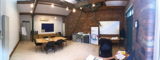 The premises comprise the second floor office of a larger four storey office complex set within a refurbished mill building benefitting from a high specification fit out throughout occupying a desirable location overlooking the River Calder and surro...