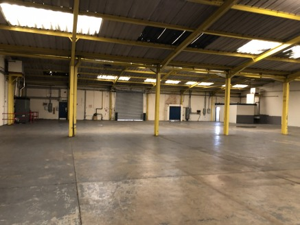 Industrial/warehouse unit  13,053 sq ft   Leasehold £45,700 per annum