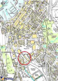 A prominent 2.57 acre development site which has been cleared of buildings<br>* Immediately to South of Whitehaven town centre<br>* Located within the 'Corkickle' Development Area<br>* Potentially suitable for a range of uses (subject to Planning)<br...