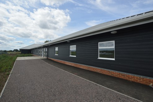 - New Office suites  - Excellent views out over the Aerodrome and surrounding countryside  - Configured around a large central courtyard  - Available for terms of 12 months upwards
