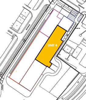 Gateway, a former regional distribution depot has been split in to 6 units, with unit 4 offering a total of 44,563 sq ft of industrial/warehouse space benefiting from the following specification:   *3 Dock level loading doors   *Steel portal frame co...
