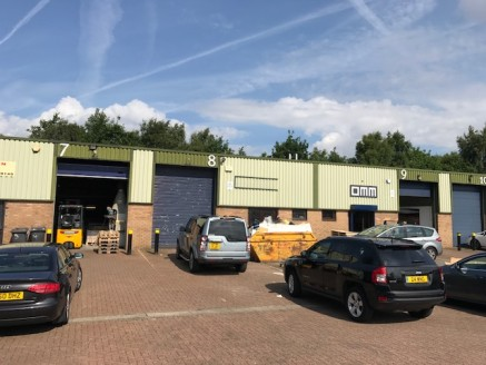 The property comprises of a steel portal frame building with asbestos cement clad roof which is lined internally. The walls are mostly concrete block with profile steel cladding above the block work to front and rear. There are two storey offices to...
