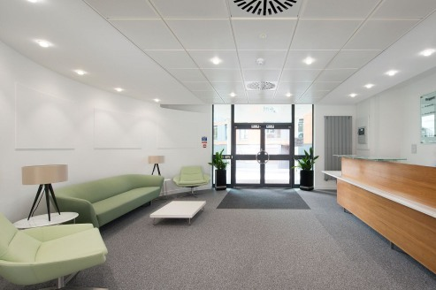 Regent House comprises a high quality purpose built office building with large open plan floor plates and excellent on site parking. The available accommodation is located on the 3rd floor.