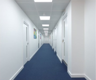 Refurbished Offices Suites available   Suites from 500 sq ft (47 sqm) to 1,375 sq ft (127 sq m)  Total available accommodation 6,805 sq ft (632 sq m)