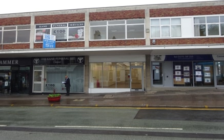 Retail Unit With First Floor and Basement Close To Crewe Town Centre