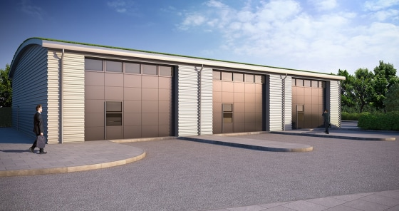 New Build Industrial Unit/s  From 1,618 sq ft to 4,854 sq ft