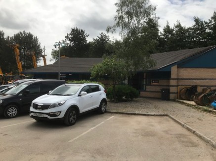 Two detached buildings on a site area of 1.037 acres with extensive parking and external areas.  Offices  A detached single storey office with a mix of open plan and cellular style offices. Kitchen and WCfacilities are included in the layout arrangem...