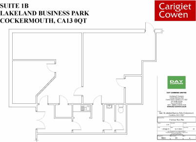 Prominent self-contained ground floor office suite at entrance to this popular, well established Business Park.<br><br>Comprises 2 no. large offices, an interview room, kitchen and wc's.<br><br>New Internal Repairing Lease on terms to be agreed.<br><...