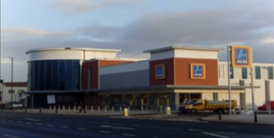 Ground Floor Non Food Retail Unit 887 Sq m (9,547 Sq ft) approx  (Aldi & Travelodge now open)