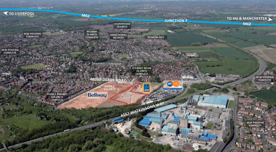 A development site of 2.83 acres offering potential for a wide range of uses subject to securing the appropriate planning permission.  For Sale  Price On Application