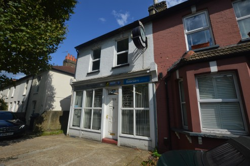 The property comprises an end-of-terrace former house which has been converted to ground floor office and a one bedroom self-contained flat on the first floor. The building extends to 1,108 sq ft (103 sq m) GIA.   To the rear of the site is a ground...