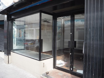 Ground floor retail premises with rear yard parking close to Redrock & Merseyway Shopping...