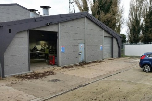 Refurbished industrial accommodation