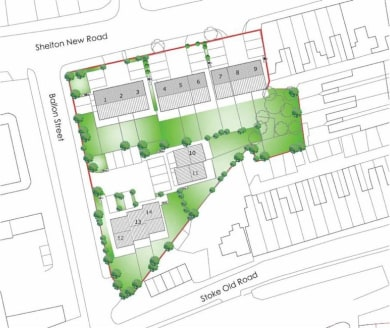 Land and Development for sale in Hartshill | Butters John Bee
