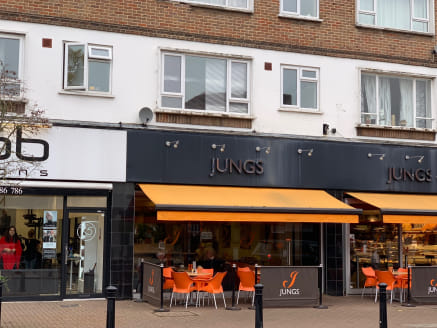 The unit currently forms part of Jungs Patisserie located on the west side of Packhorse Road next to Hob Salons, opposite M & S Simply Foods, COOK and Fego Cafe and close to Sainsbury's Local and Majestic Wine Warehouse. Jungs propose to release this...