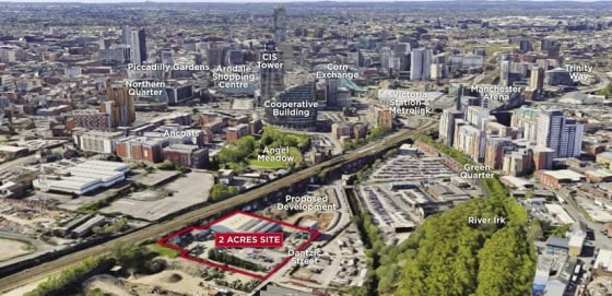 * Consent for 415 Apartments together with Commercial and Amenity Space plus 153 Car Parking Spaces *  The site is roughly square and extends to approximately 0.8Ha (2 acres).  Planning consent has been granted for a single apartment building arrange...