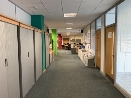 Modern, detached office premises providing the following features:   Full access raised floors   Comfort Cooling   Passenger lift   Kitchen   Gas Central Heating   Extensive on site car parking spaces   Male, female & disabled WC facilities   Landsca...