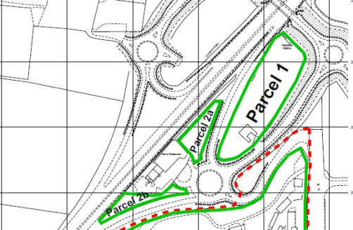 Two irregular shaped broadly level sites fronting the entrance to the Snetterton Park complex each benefiting from vehicular access from roundabout access immediately off the A11 trunk road.