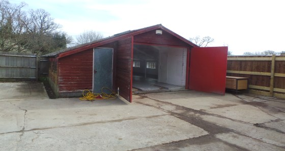 Unit 4a forms part of a former agricultural building and now comprises some 1,400 sq ft of workshop/storage accommodation and incorporates WC facilities along with a small office area. The workshop has an eaves height of some 8ft 4'' to the under-sid...