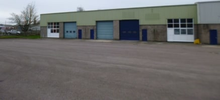 Refurbished industrial units with generous parking and loading areas. Variety of sizes available from 312.33 sq m (3,362 sq ft) to 1241....