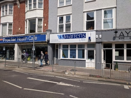 The premises comprise of a self-contained shop with a useful dry basement storage area. The unit has been used as a solicitors office and is configured to offer a reception area, two meetings with rear WC, kitchenette and storage area.