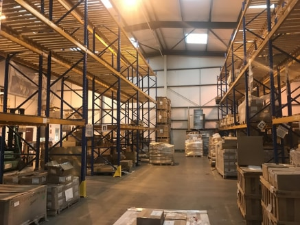 An 8,950 sq ft Industrial / Warehouse Unit located on an existing commercial estate in Martley. The property includes a large loading / unloading area.