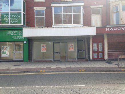 Promenade shop unit close to the Town Centre. Double fronted sales shop 385 sq ft with electric roller shutter to front. Rear store room 320 sq ft. New lease available rent £7,000 per annum....