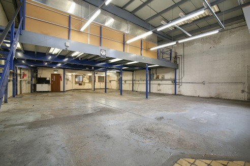 The property comprises two industrial warehouse units totalling approximately 4,595 sq.ft. The warehouse unit is spread over ground and first floor with ancillary office space to the rear of the building and on both levels. Access into the warehouse...