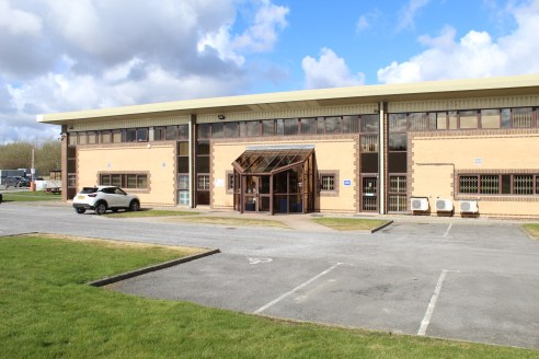 Modern detached production unit. 4,405.3 m2 (47,418 ft2). Ground and first floor offices plus production offices. LED lighting. 3 level access loading doors. Eaves height of approximately 6m (5.6m in the extension). Secure site with 73 car parking sp...