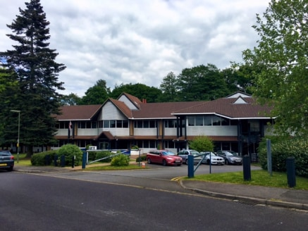 Bagshot Manor is a refurbished office campus constructed in the late 1980's.  The property is laid out over two floors with a part second floor for plant room.   The property is set within its own grounds of 2.18 acres and includes 110 parking spaces...