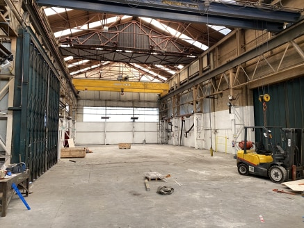 The subject property comprises a substantial industrial premises of steel portal frame construction that is arranged in an ''L'' shape, with varying ceiling heights throughout the accommodation.  Internally, the property provides for majority industr...
