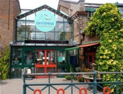 The Enterprise Shopping Centre is one of the most exciting and unusual places to shop and eat in Sussex!  50 Fascinating businesses offering everything from fresh meat to flowers - all under one big sunny Victorian glass roof.