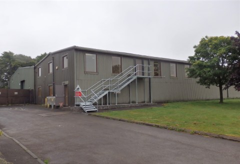 Semi-detached steel portal frame building.<br><br>Ground floor largely storage space, with clear eaves of 2.45m - 6,168 sq ft.<br><br>First floor refurbished open plan showroom space with good natural light - 6,067 sq ft.<br><br>Extensive on-site par...