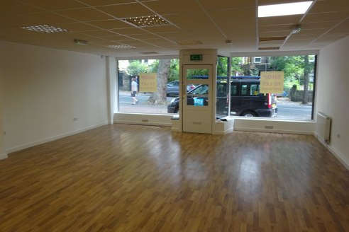 Ground floor retail with substantial basement located in Nether Edge