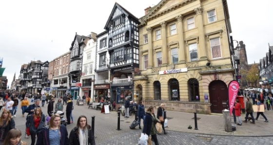 The subject property is situated on the prime pedestrian thoroughfare of Eastgate Street, adjoining both NatWest Bank and Bella Italia.   It sits in a prominent position opposite Browns of Chester, with nearby national retailers including Next, Hobbs...